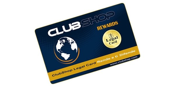 Tessera Legal Card (ClubShop Rewards)