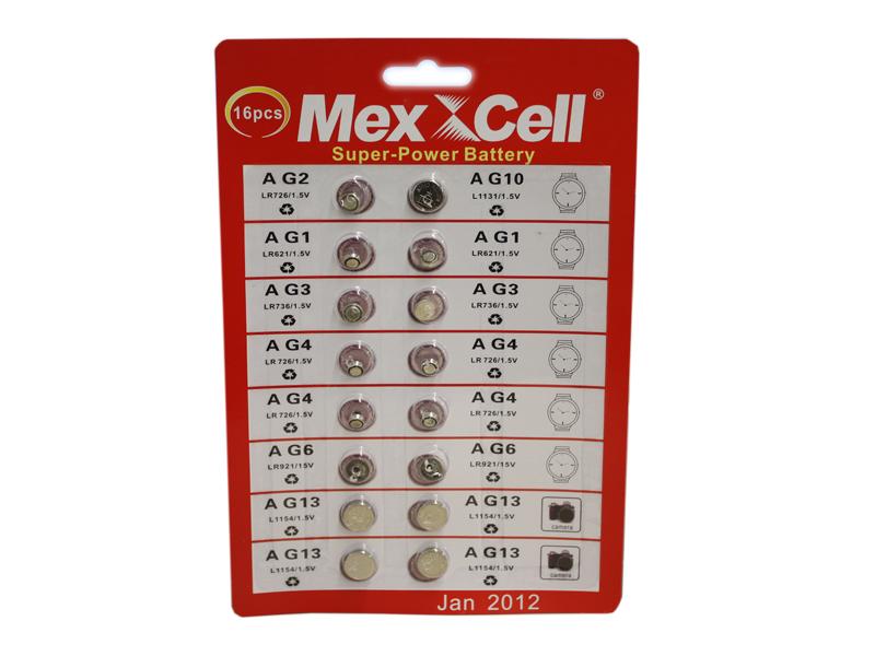 Confezione batterie a bottone per vari utilizzi for Batterie orologi tabella
